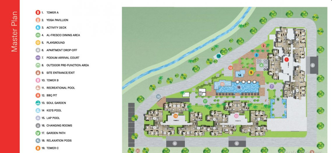 Nikoo Homes 4 Bhartiya City Master Plan