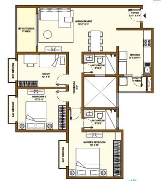 Nikoo Homes Phase 4 2.5 BHK Apartments