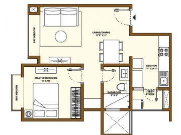 Nikoo Homes Phase 4 1BHK Apartments