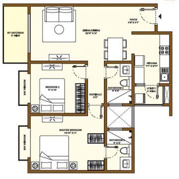 Nikoo Homes Phase 4 2 BHK Apartments