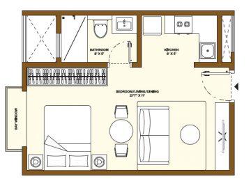 Nikoo Homes Phase 4 Studio Apartments